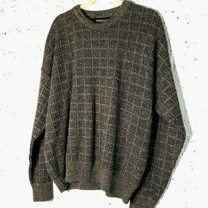 Expressions Vintage Large Grandpa Chunky Sweater